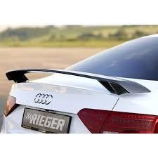 audi a4 spoiler a5 s5 modified r style carbon fiber rear trunk spoiler car wing