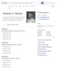 Seo Resume Free Seo Resume Template The Blog Of Stephen Murphy