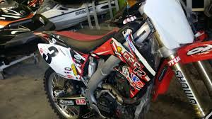 motocross racing parts 2009 honda crf 250 r motorcycle w racing parts and accessories