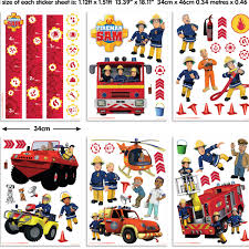 Fireman Sam Bedroom Furniture by Fireman Sam Stickers Wall Stickers For Kids