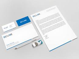 Letterhead And Business Card Printing by Serious Modern Stationery Design For Seed Telecommunications Llc