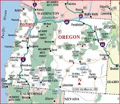 highway map of oregon aaccessmaps