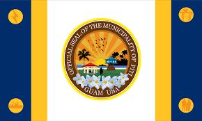 Guam Flag Piti Flag Municipality Of The Us Territory Of Guam Guahan