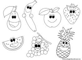 coloring pages engaging fruit coloring pages collection