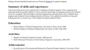 mechanical engineering resume examples entry level chemical engineer resume mechanical engineering resume picturesque resume examples for process control chemical with regard to chemical engineer cover letter