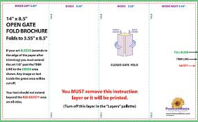 gate fold brochure template parallel fold brochure template gate fold brochure