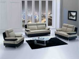 living room bonded leather sectional sofa with recliners