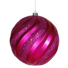 Sequin And Glitter Christmas Ball Decorations by Blush Pink Christmas Ornaments Wayfair