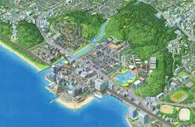 Hoenn Map Youkai Watch Artwork 2 Jpg 1 200 778 Pixels Game Cartoon Maps