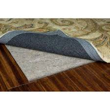 Area Rug Pad For Hardwood Floor Rug Padding Grippers Rugs The Home Depot