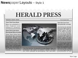 newspaper theme for ppt ppt template editable newspaper headline powerpoint slide graphics