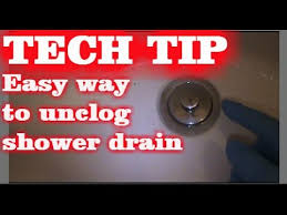 Best Way To Unclog A Bathtub Easy Way To Unclog Tub Drain Youtube