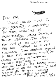 spanish thanksgiving falls church city elementary pta u2013 thank you notes