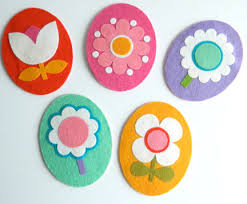 felt easter eggs easter egg felt ornaments pictures photos and images for