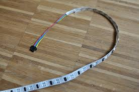 How To Cut Led Strip Lights by How To Build Your Own Ambilight Tv With Raspberry Pi And Xbmc