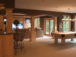 finished walkout basement house plan basement pool basements and room