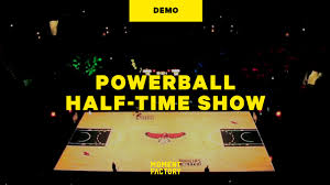 Powerball Map Powerball Halftime Show A Promotional Halftime Show Demo On Vimeo