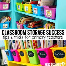 storage success organization tips miss decarbo