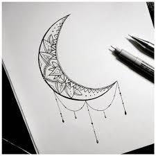 half moon tattoos