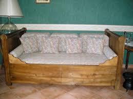 canapé lit louis philippe ancien