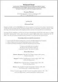 Resume Examples For Fast Food by Restaurant Server Resume Food Server Resume Best Fast Food Server