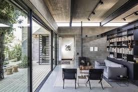10 contemporary rooms with concrete ceiling contemporary family