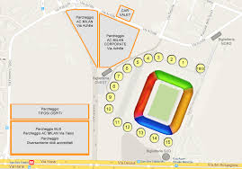 stadio san siro ingresso 8 stadio san siro giuseppe meazza mappa posti e settori ac milan