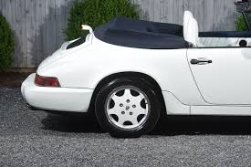 porsche 911 convertible white 1991 porsche 911 carrera stock 49 for sale near valley stream