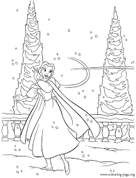 beauty beast belle playing snow coloring