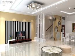 divider design between living room and dining room home combo