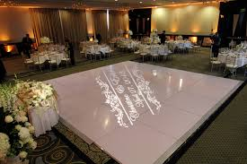 white floor rental event lighting make up hair white floor and gold