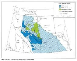 Calgary Alberta Canada Map by Chapter 31 Petroleum Generation And Migration