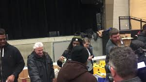 steelers thanksgiving deangelo williams at steelers thanksgiving giveaway youtube
