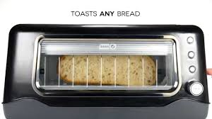 See Theough Toaster Dash Clear View Toaster Youtube