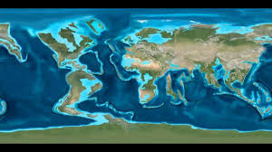 map of eart earth 250 million years from now