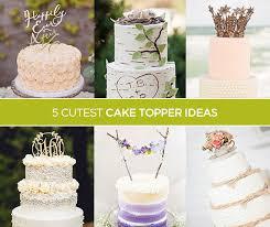 deco cake topper 5 wedding cake topper ideas crazyforus