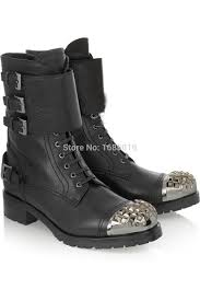 buckle motorcycle boots designer combat boots picture more detailed picture about