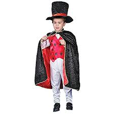 Halloween Costumes Magician Amazon Deluxe Magician Costume Small Toys U0026 Games