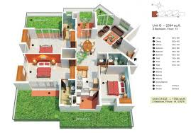 3 bedroom floor plan low cost house plans with photos floorplan