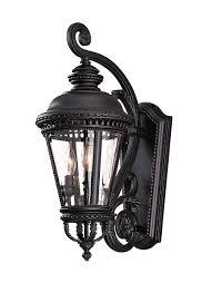 Murray Feiss Lighting Catalog Ol1900bk 1 Light Wall Lantern Black