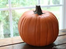 clever pumpkin how to make a plastic pumpkin look real popsugar home