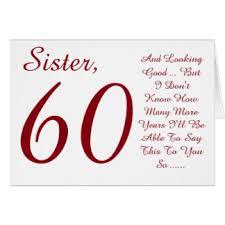 sisters 60th birthday cards u0026 invitations zazzle co uk
