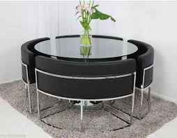 Circular Glass Dining Table And Chairs Best 25 Glass Dining Table Set Ideas On Pinterest Dining Table