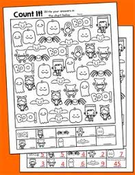 halloween color by number coloring worksheets halloween
