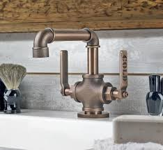 Industrial Bathroom Fixtures This Bathroom Faucet Looks Like An Industrial Pipe Faucet