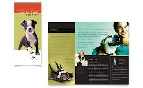 veterinary clinic brochure template word u0026 publisher