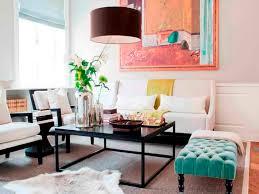 ottoman ideas for living room dark purple pendants lighting ideas with animal rug and green tufted
