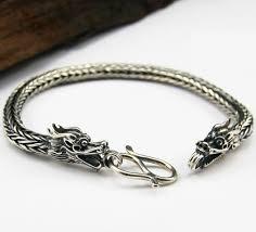 dragon bracelet silver images Silver dragon bracelet tibetan sterling silver dragon bracelet gif