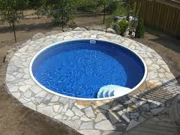 Inground Pool Ideas Best 25 Semi Inground Pool Deck Ideas On Pinterest Swimming