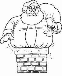coloring pages to print of santa santa claus coloring pages free printable for kids ribsvigyapan